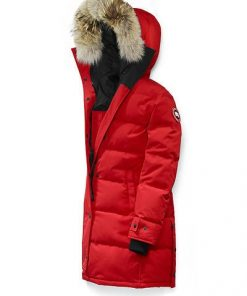 Canada Goose Shelburne Parka Red Red