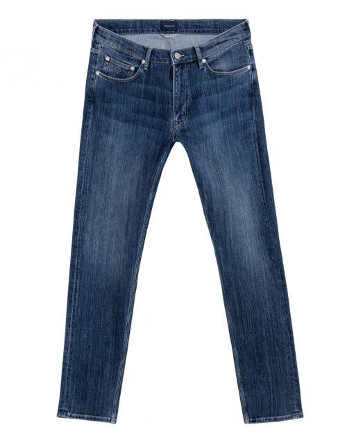 Gant D1. Tp Tapered Jeans Blue