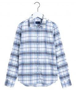 Gant D1. Check Twill Shirt Natural White