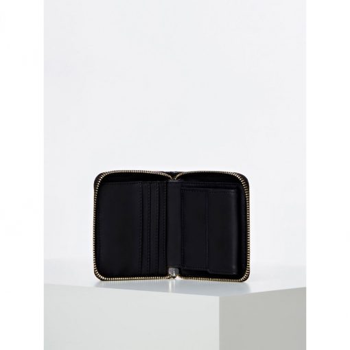 Guess Astrid Small Zip Around Wallet Black