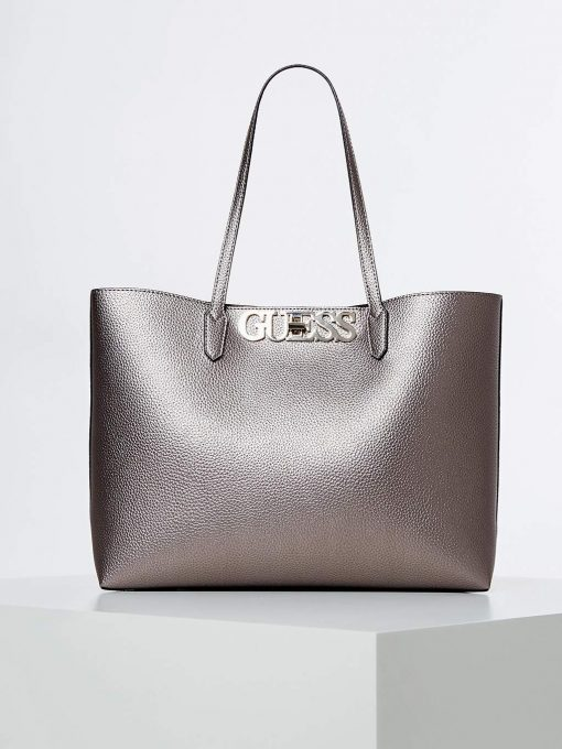 Guess Uptown Chic Barcelona Tote Gold