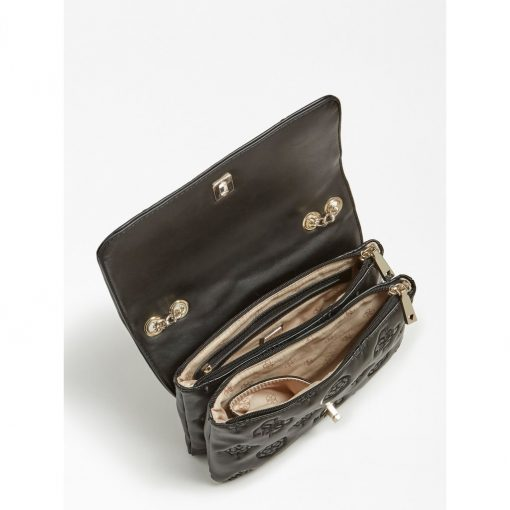 Guess Chic Convertable Flap Black
