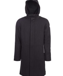 Nål Functional Wool  Coat Halmstad Black