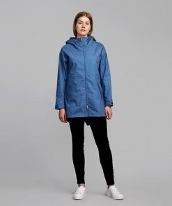 Makia Fishtail Jacket Blue