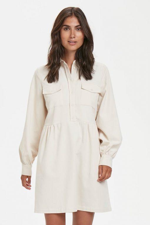 Part Two Aicha Dress Natural White