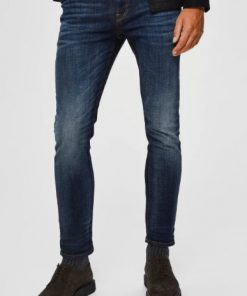 Selected Slim-Leon 6164 D. Jns W Blue Blue