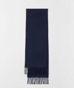 Tiger Of Sweden Berg Scarf Dark Blue