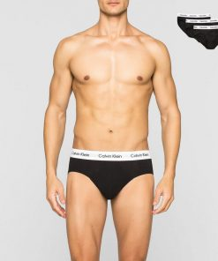 Ck 3-Pack Hip Brief Black Black