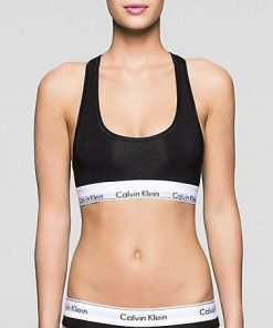 Ck Bralette Modern Cotton Black