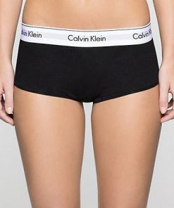 Ck Short Modern Cotton Black