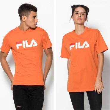 Fila Unisex Classic Pure T-Shirt Orange