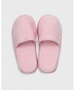 Gant Home Premium Velour Slippers Rose