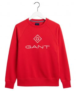 Gant Lock Up C-Neck Sweat Red