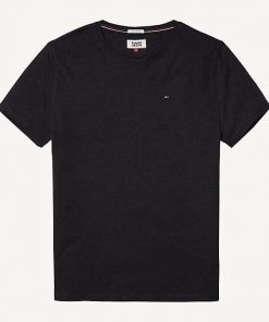Hilfiger New Stretch C-Nk T-Shirt Black