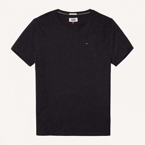 Hilfiger New Stretch C-Nk T-Shirt Black
