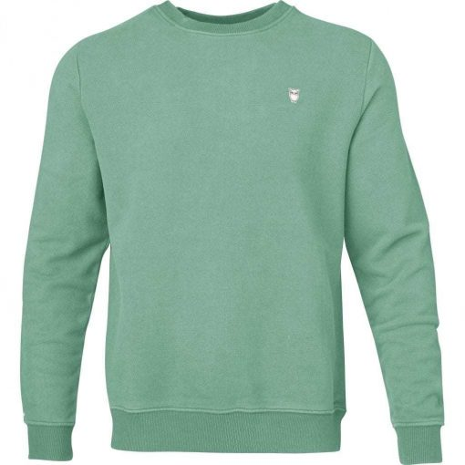Knowledge Cotton Apparel Basic Sweat Mint