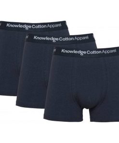 Knowledge 3 Pack Underwear Navy