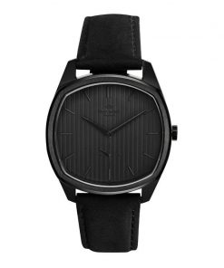 Knut Gadd Watch Stripe Dial Black