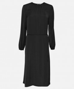 Moss Copenhagen Felina Polysilk Dress Black