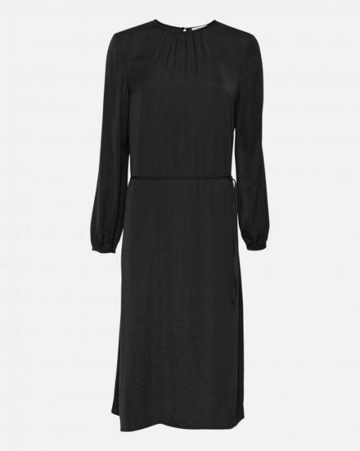Moss Copenhagen Felina Polysilk Dress Black