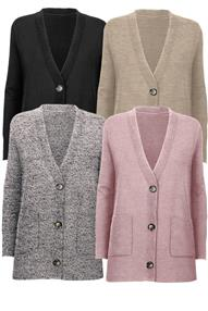 STI Norela Cardigan Light brown