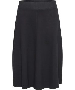 Part Two Titiana Jersey Skirt Black