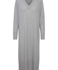 Part Two Tonje Knit Dress Grey