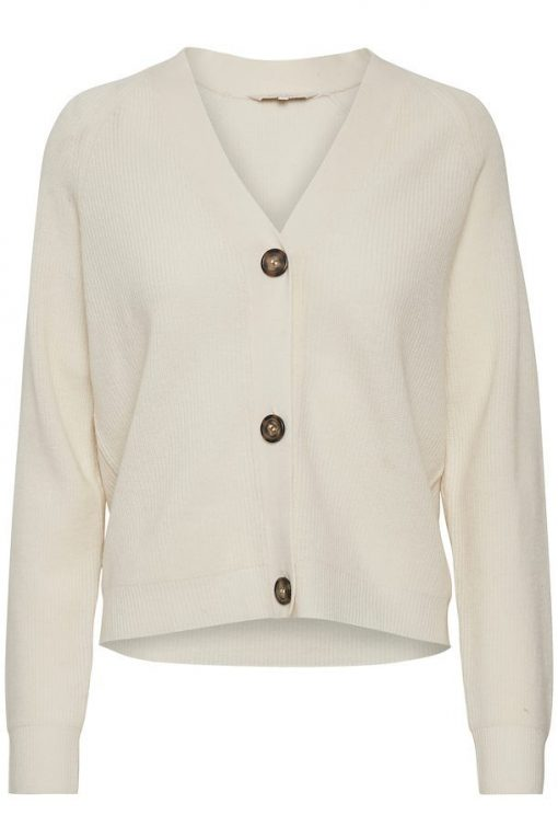 Part Two Aimee Cardigan Natural White