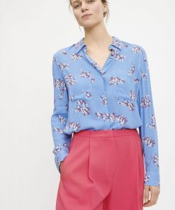 Samsoe&Samsoe Milly Shirt Blue