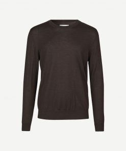 Samsoe&Samsoe Flemming Crew Neck 3111 Dark Brown