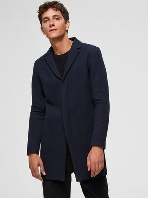 Selected Brove Wool Coat Blue Blue