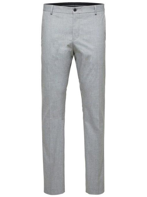 Selected Slim-Mylologan Light Gre Grey Gray
