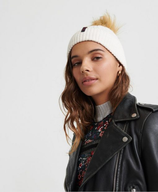 Superdry Lannah Cable Beanie Rose