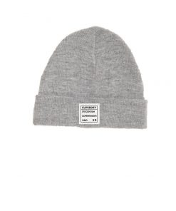 Superdry Scandi Street Beanie Grey