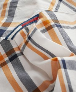 Tommy Jeans Essential Multi Check Shirt White