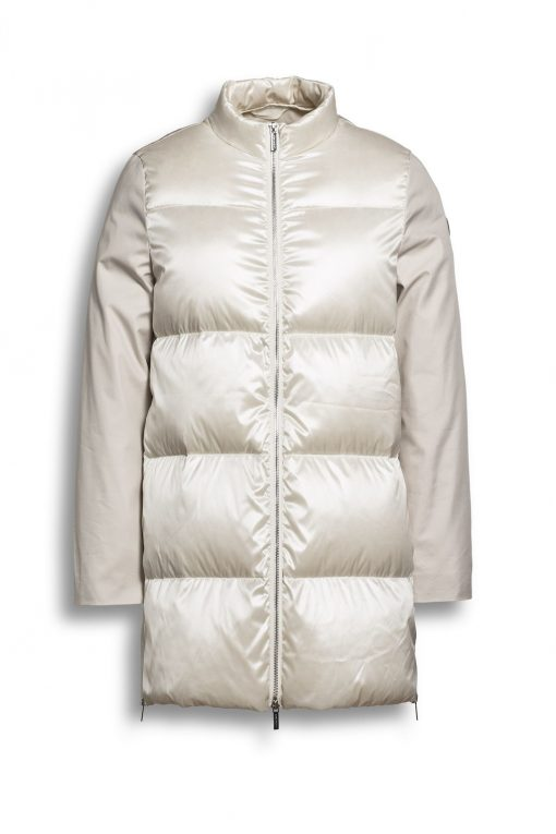 Beaumont Mid-season Coat Natural White