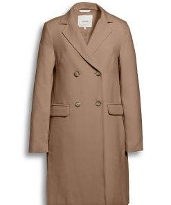 Beaumont Doublebreasted Blazer Coat Camel