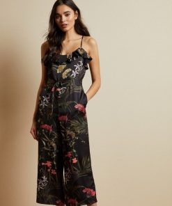 Ted Baker Calline Jumpsuit Black