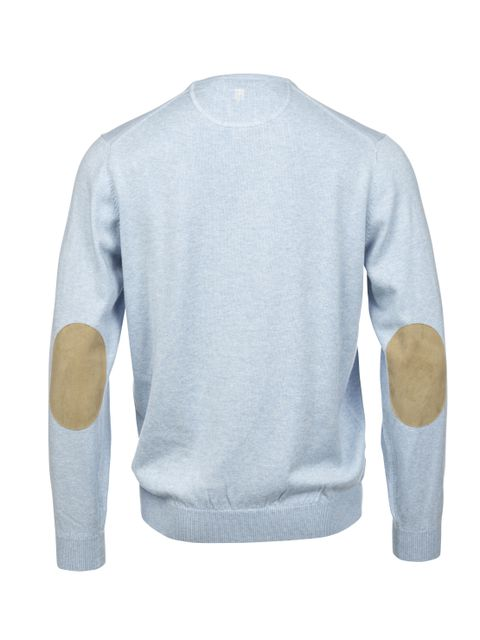 Hansen & Jacob Cotton Cashmere Crewneck Lightblue