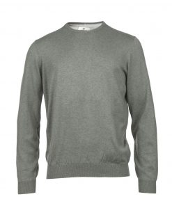 Hansen & Jacon cotton cashmere crew
