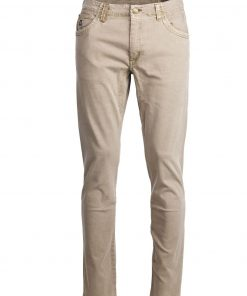 Hansen & Jacob 5Pkt Cut'n Sew Trousers Brown