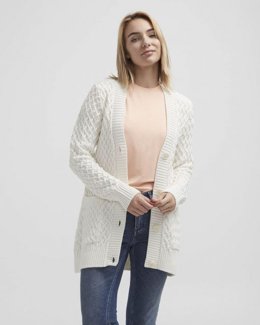 Holebrook Michelle Cardigan Offwhite