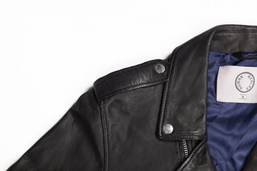 Human Scales Adam Leather Jacket Black