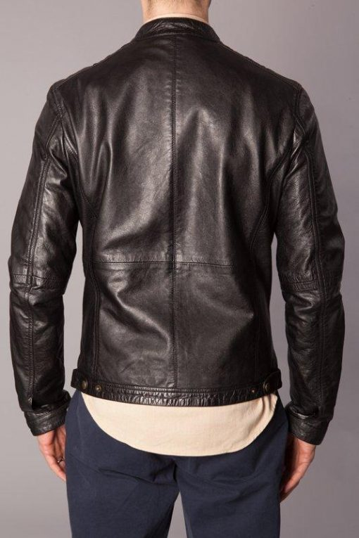 Human Scales Pete Leather Jacket Black