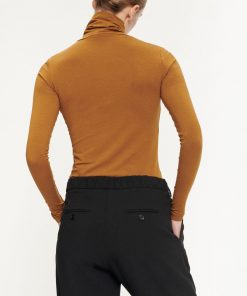 Samsoe&Samsoe Ester T-neck Brown