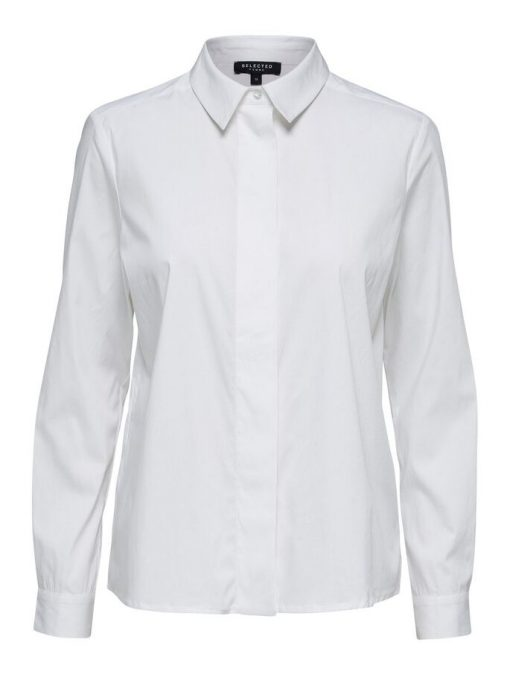 Selected Tencel Shirt White