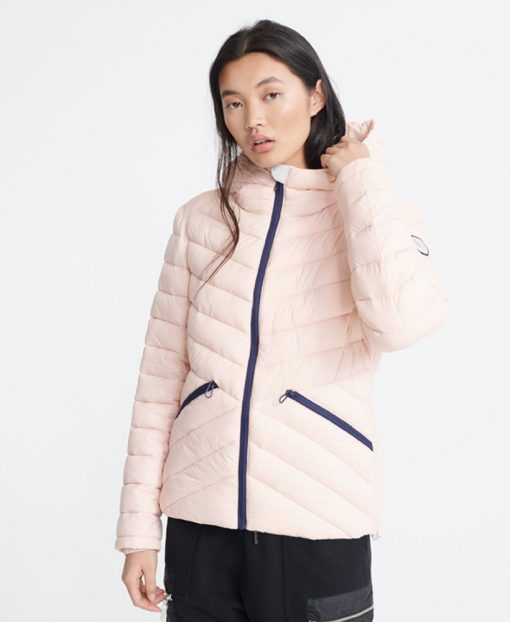 Superdry Helio Padded Jacket Peach