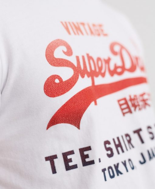 Superdry Fade T-Shirt Store White