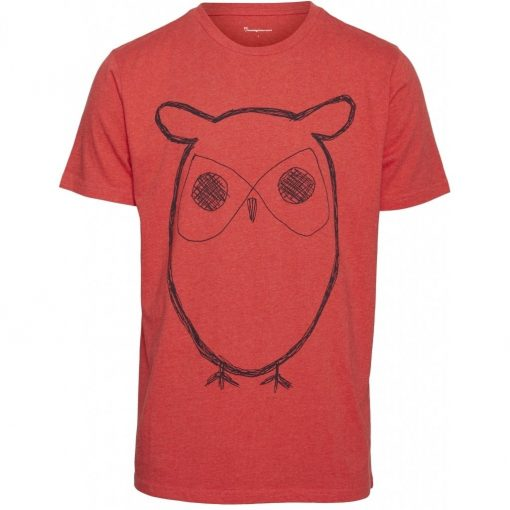 Knowledge Cotton Apparel Adler Big Owl t-shirt