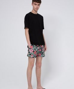 Hugo Boss Hawaii Swim Shorts Black